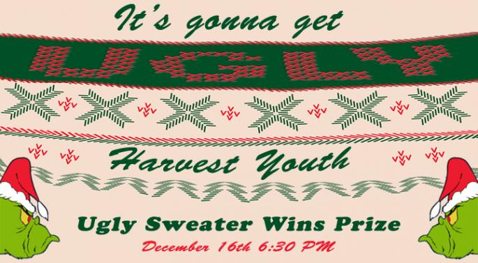 Harvest Youth Ugly Swaeter 2016