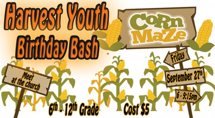 Youth Corn Maze Night