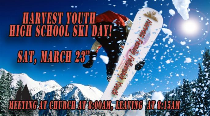 High School Ski Day