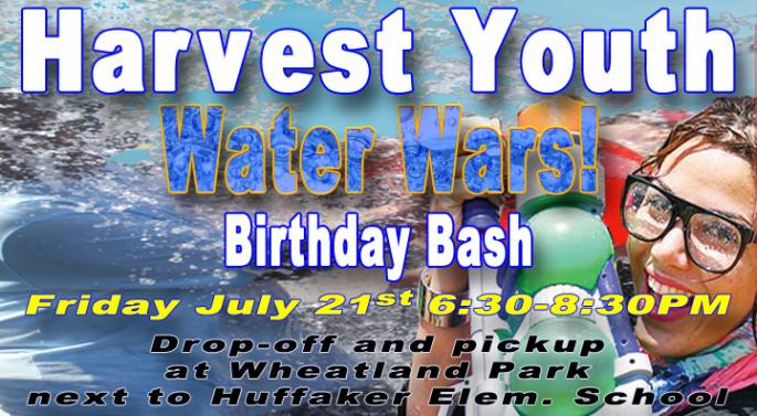 Harvest Youth Water Wars 2017